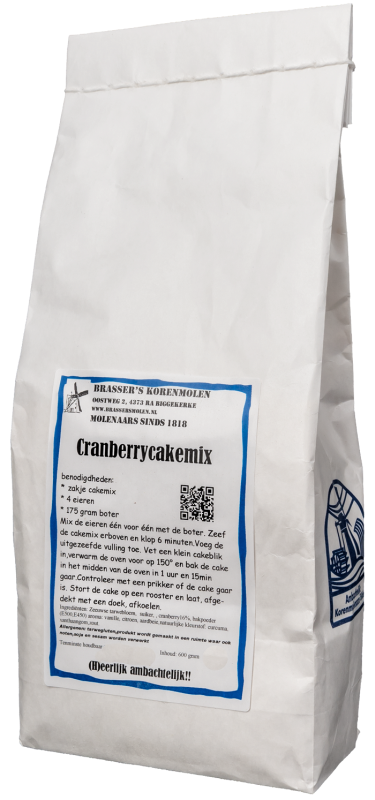 Cranberrycakemix (500 gram)