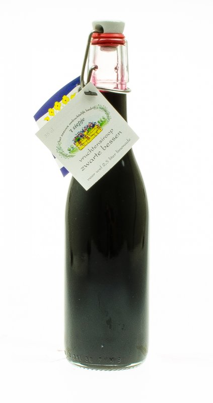 Vruchtensiroop zwarte bessen (35 cl)