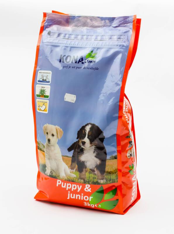 Konacorn Hondenbrok Puppy & Junior (3 kg)