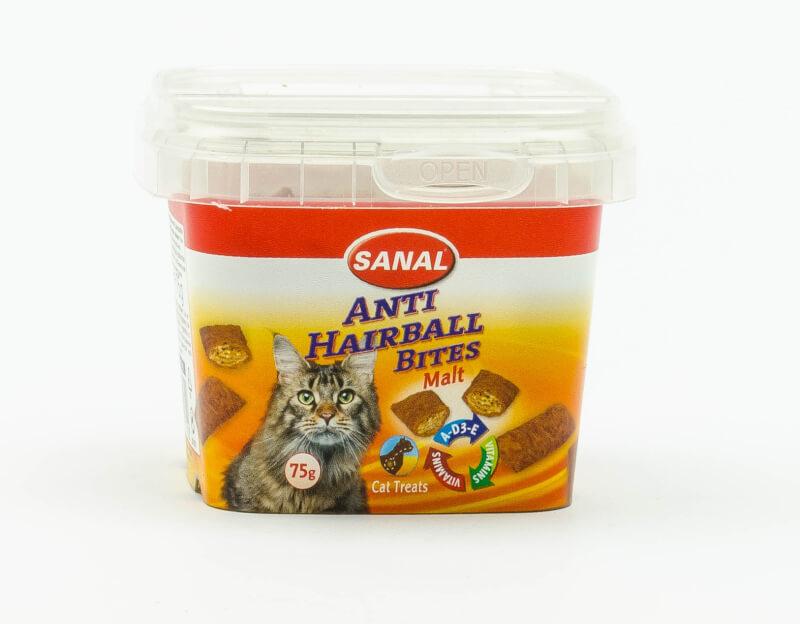 Anti haarbal snacks voor de kat (75 gr.)