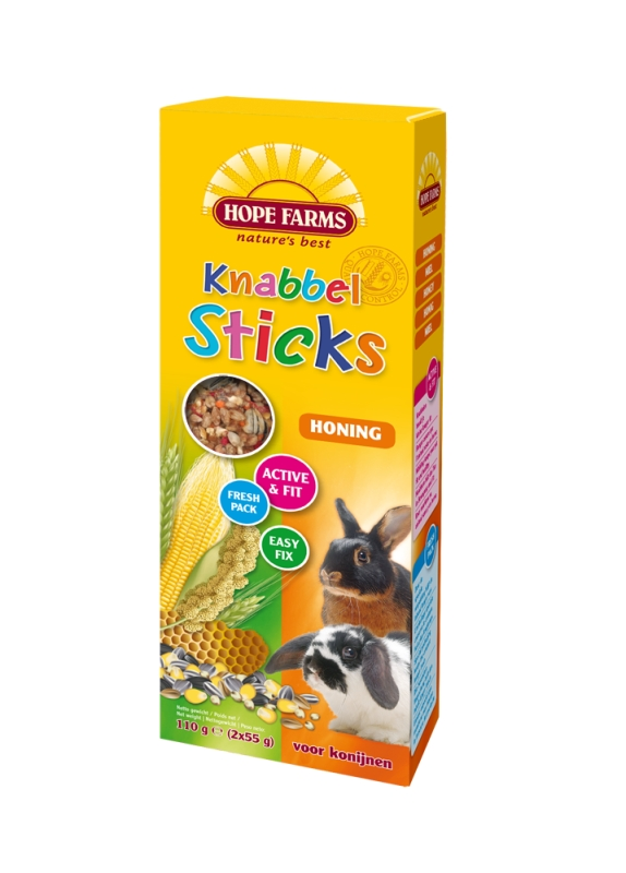 Hope Farms KnabbelStick Rabbit Honing
