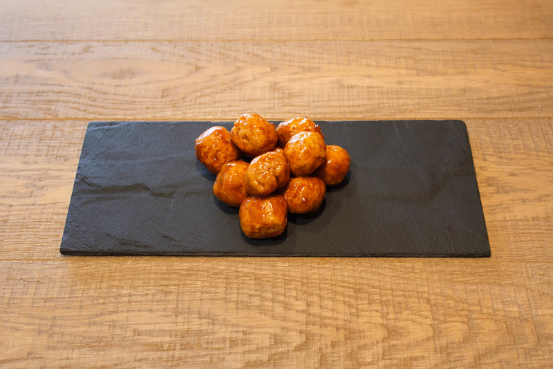 Kipballetjes in ketjap saus (500 gr)