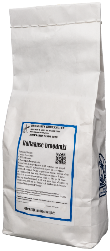 Italiaanse broodmix (500 gram)