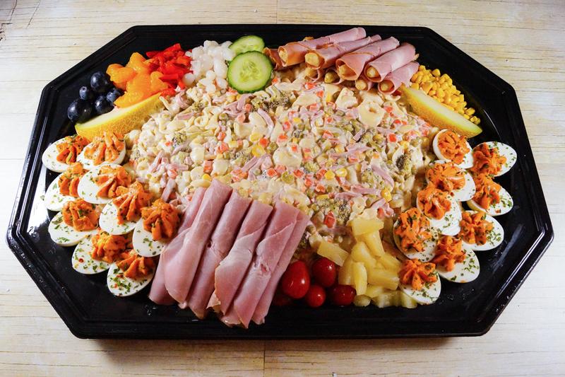 Italiaanse Pasta Salade (18 personen)