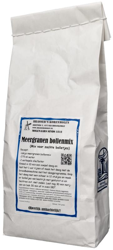 Meergranenbollenmix (500 gram)