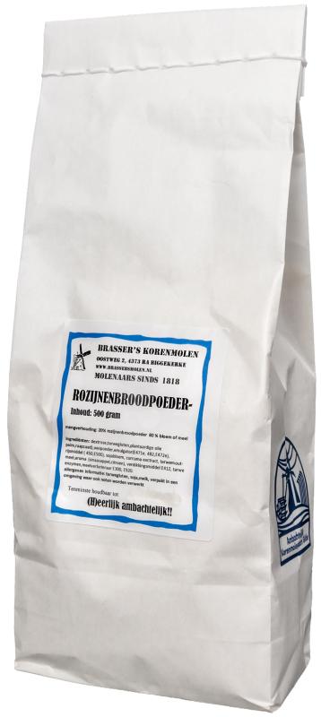 Rozijnenbroodpoeder  (400 gram)