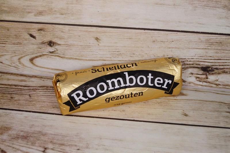 Roomboter, gezouten