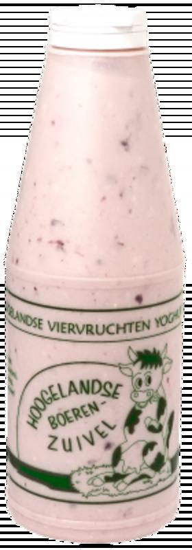 Viervruchten Yoghurt, 1000 ml