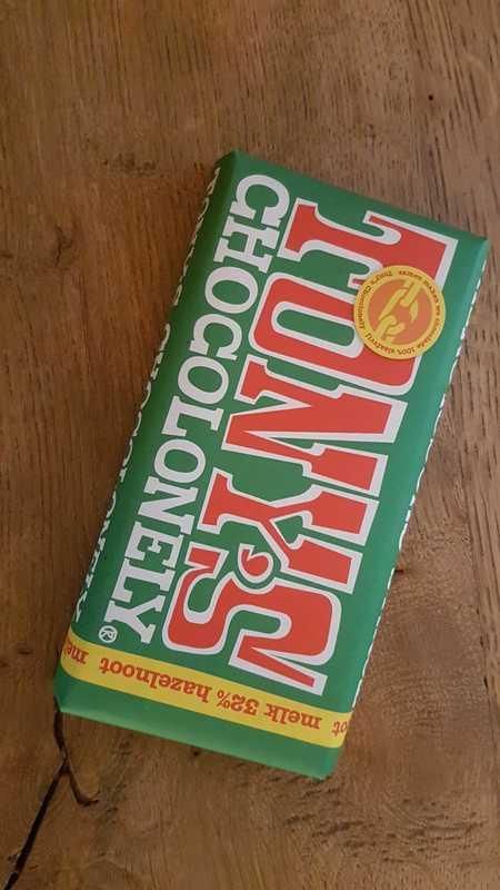 Tony Chocolonely: melk/hazelnoot