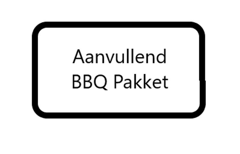 Aanvullend BBQ pakket