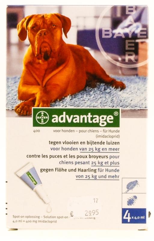 Advantage hond (> 25kg)