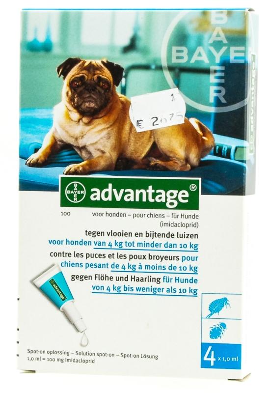 Advantage hond (4-10kg)