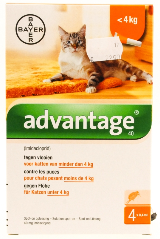 Advantage katten (<4kg)