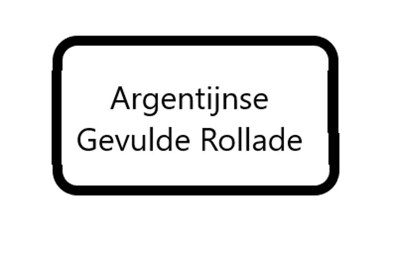Argentijnse (gevulde) Rollade ✅