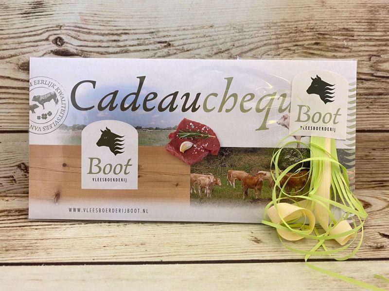 Cadeaubon / Cadeaucheque t.w.v. € 5,00