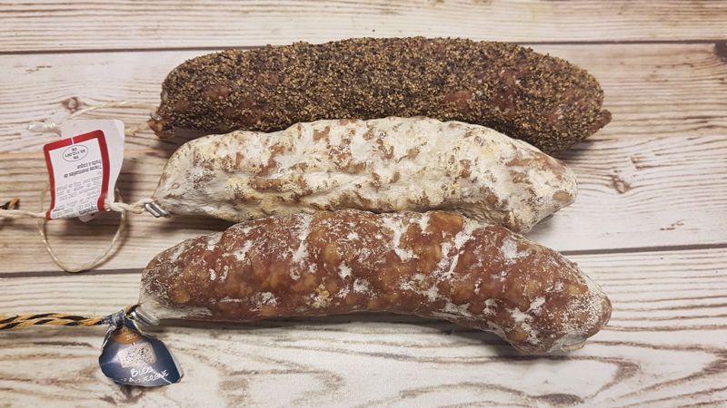 Franse droge worst Poivre (ca. 160 gr)