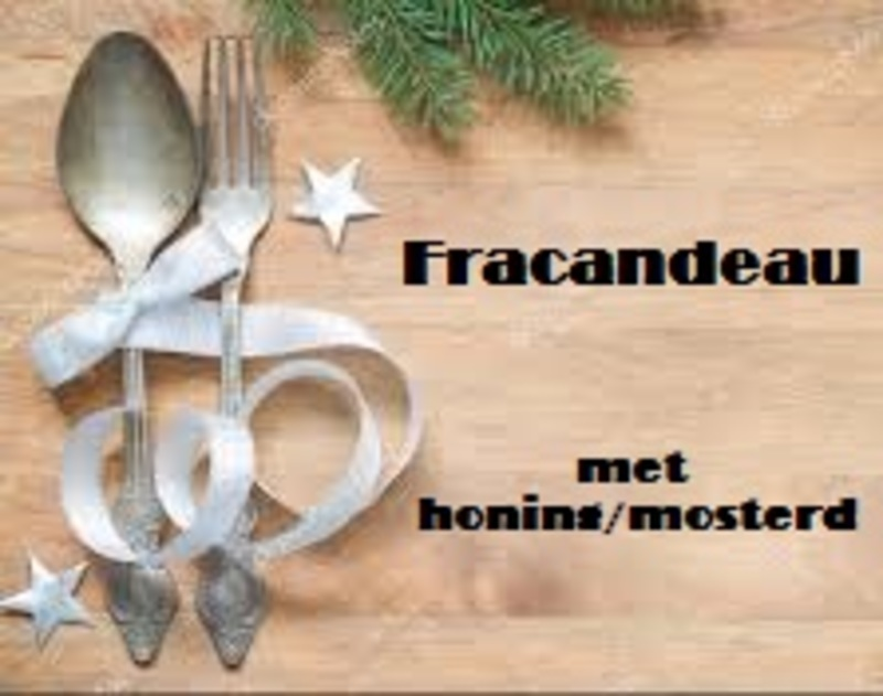Fricandeau in honing/ mosterd marinade