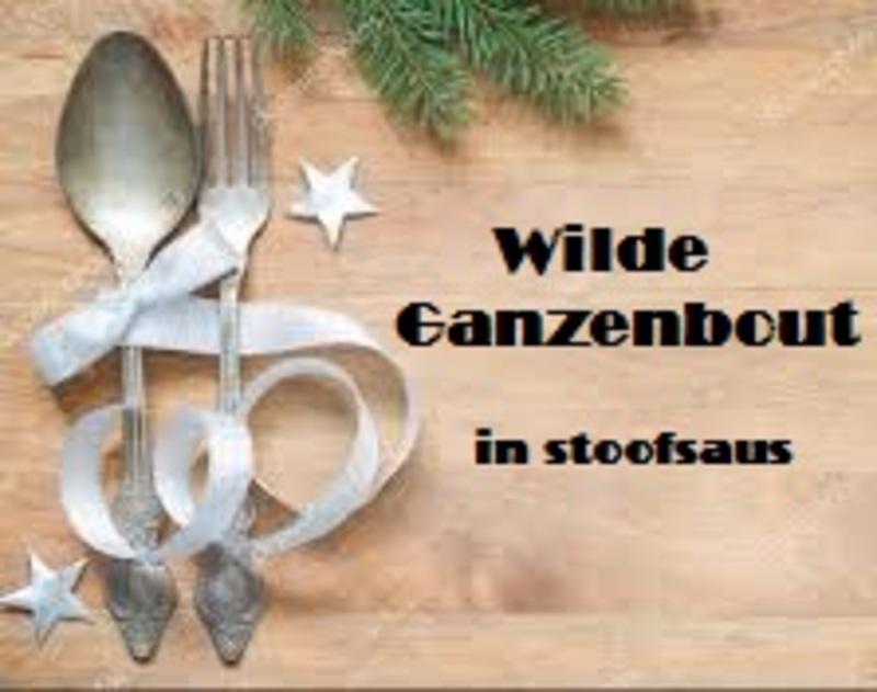 Wilde Ganzenbout - nu bestelbaar, 23 & 24 december op te halen