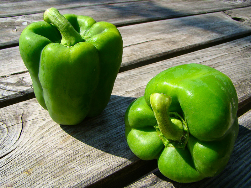 Paprika groen