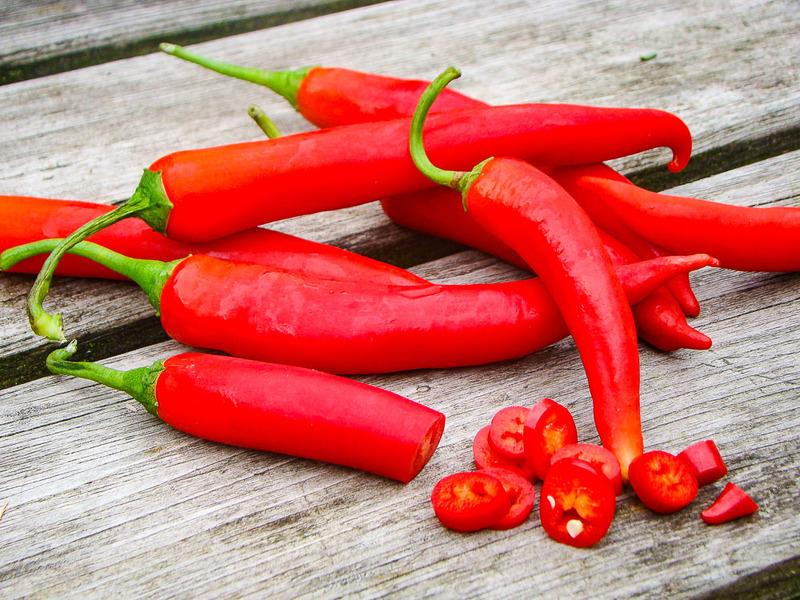 Rode peper (per stuk)