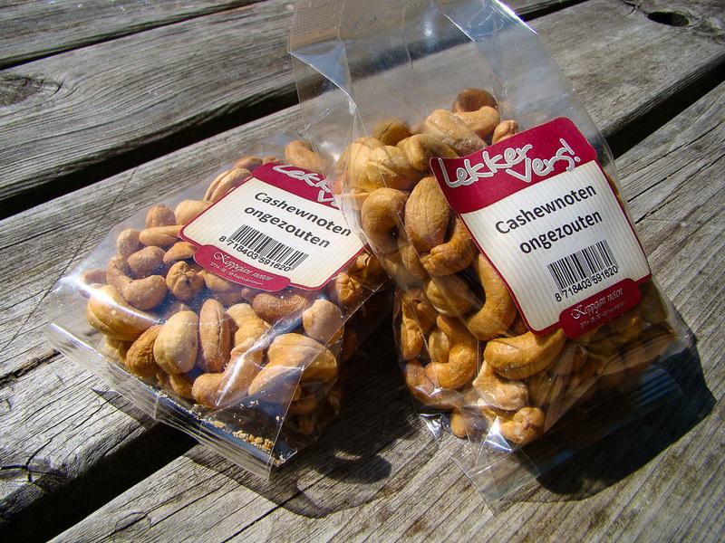 Cashewnoten, ongezouten (150 gr)