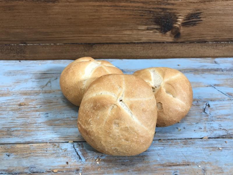 Kaiser broodje voorgebakken