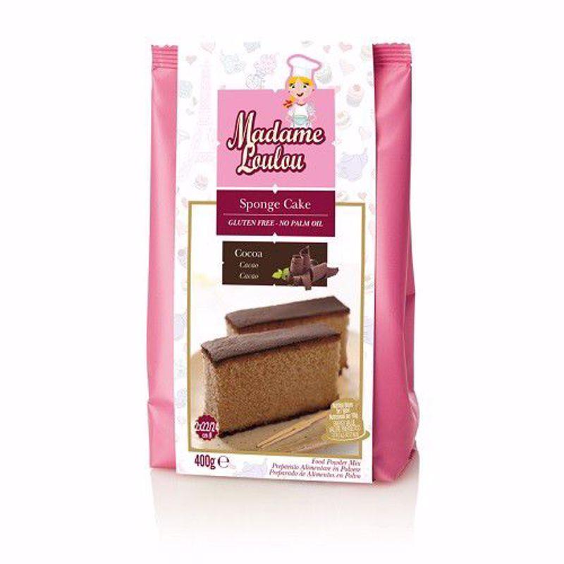 Madame Loulou Biscuitmix  cacao 400 gram GLUTENVRIJ