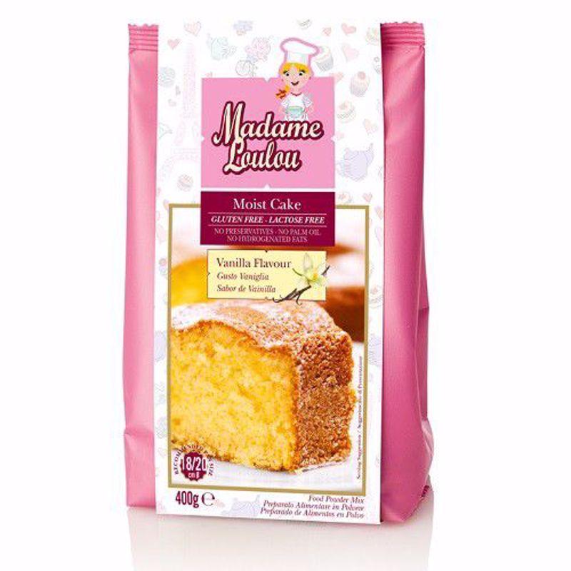 Madame loulou Vanille cakemix  400 gram glutenvrij