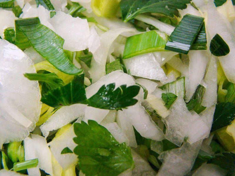 Mossel groenten (200 gram)