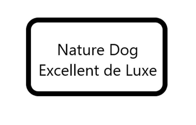 Nature Dog, Excellent de Lux (diepvries)