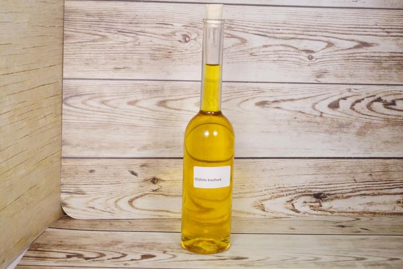 Olijfolie met knoflook, flesje ca. 200 ml
