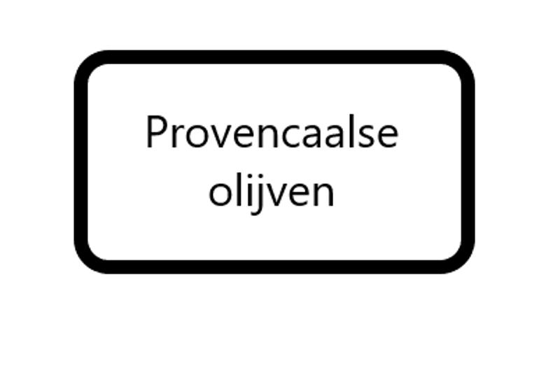 Provencaalse Olijven, 125 gram