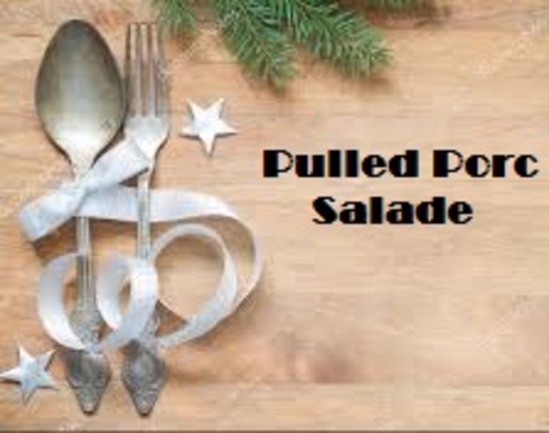 Pulled Porc Salade (150gr)