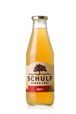 Appelsap schulp (750 ml)