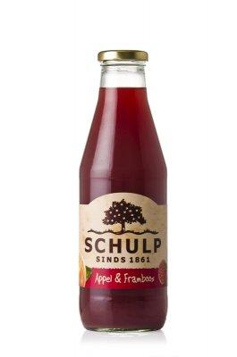 Appel-framboossap Schulp (750 ml)