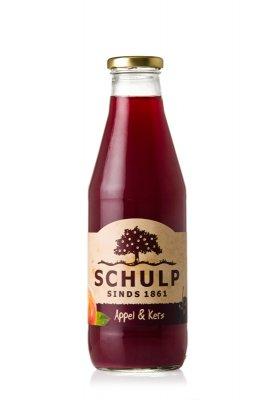 Appel-kersensap Schulp (750 ml)