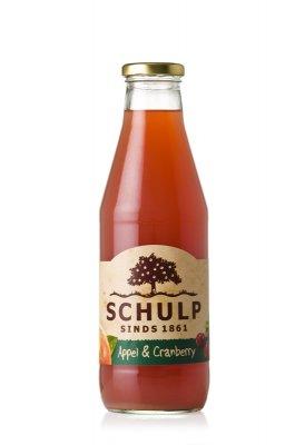 Appel-cranberrysap Schulp (750 ml)