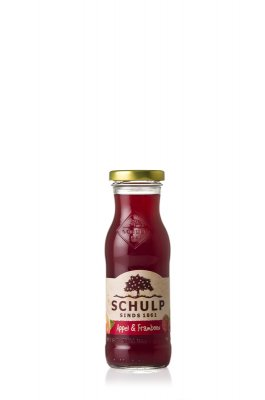 Appel-frambozensap schulp (200 ml)