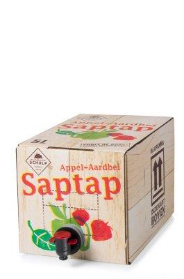 Appel-Aardbei saptap Schulp (5L)