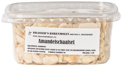 Amandelschaafsel (100 gram)