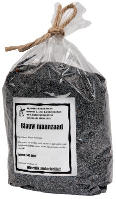 Blauw maanzaad (250 gram)