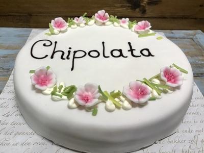 Chipolata taart rond 6 / 12 / 14 / 16 personen