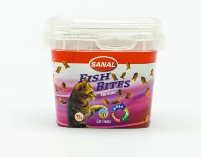 Vis snacks voor de kat (75 gr.)