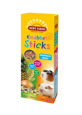 Hope Farms KnabbelStick Cavia Exotisch Fruit