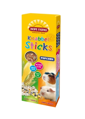 Hope Farms KnabbelStick Cavia Popcorn