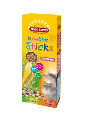 Hope Farms Knabbels Stick Rat/Muis/Hamster Fantasie
