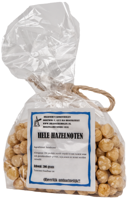 Hele hazelnoten (200 gram)