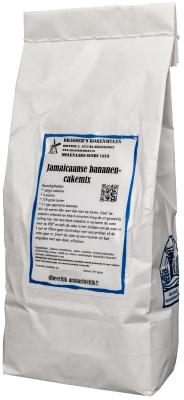 Jamaicaanse bananencakemix (500 gram)