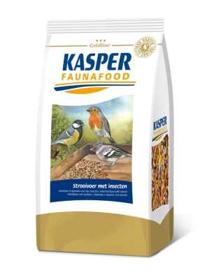 Kasper Faunafood Goldline Strooivoer met insecten