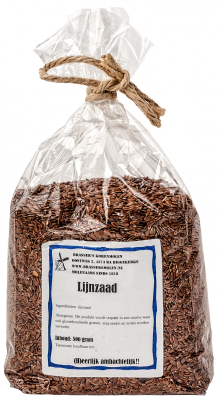 Lijnzaad (500 gram)